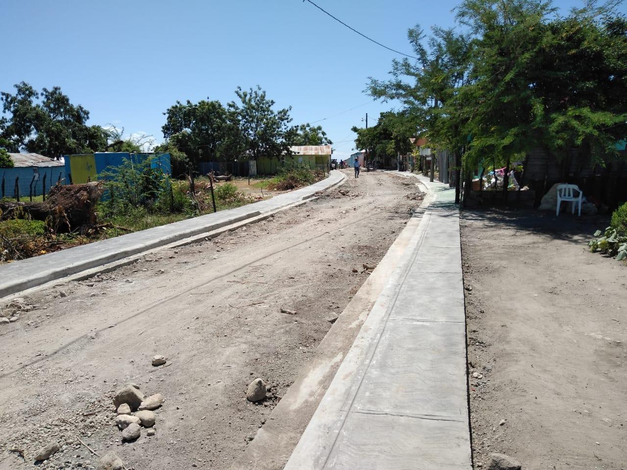 Alcalde José de La Cruz, Informa de Construcción de Obras